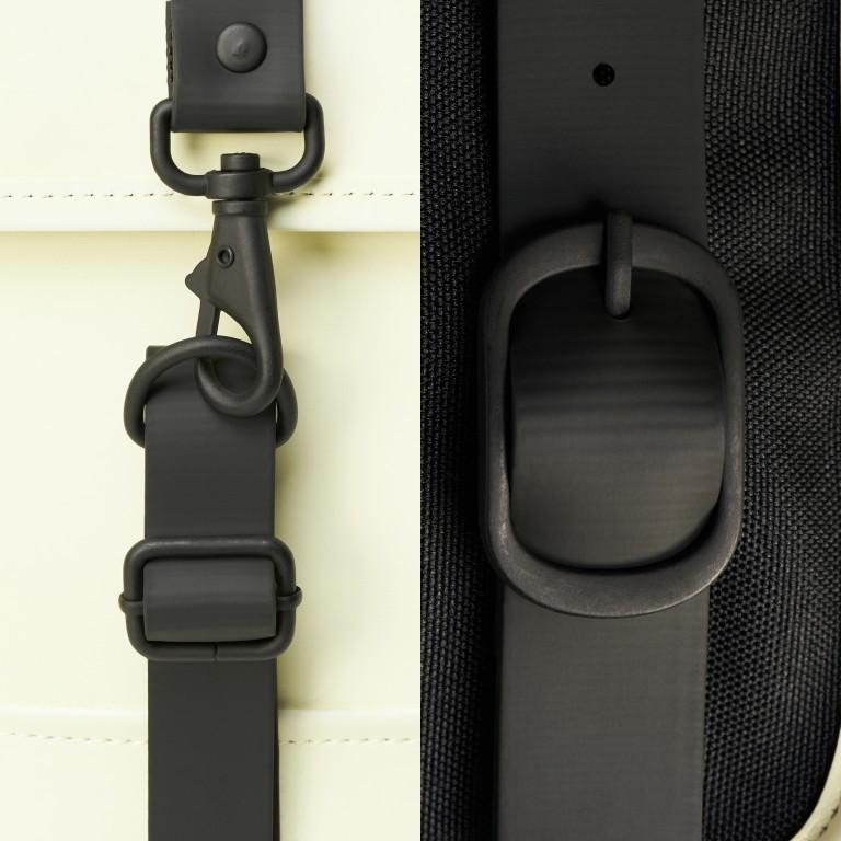 Rucksack Backpack Mini Pearl, Farbe: beige, Marke: Rains, EAN: 5711747469634, Abmessungen in cm: 27.0x39.0x8.0, Bild 5 von 5