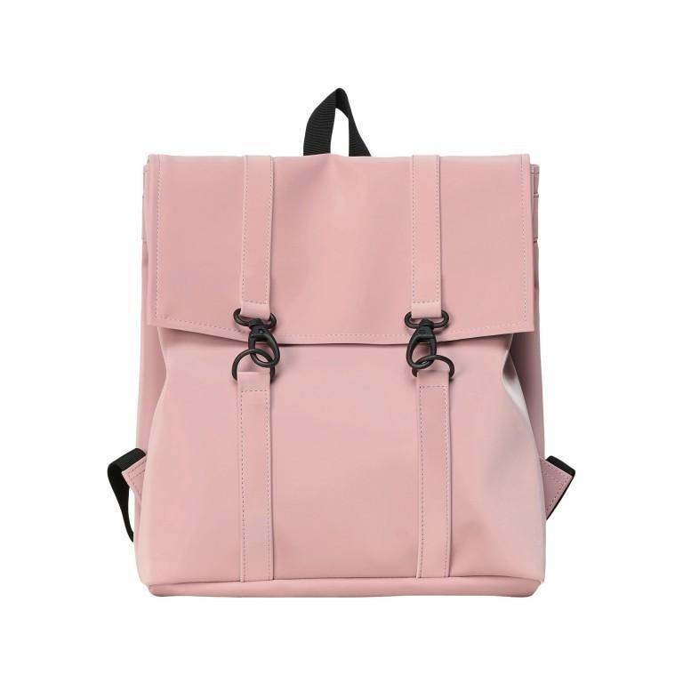 Rucksack MSN Mini Blush, Farbe: rosa/pink, Marke: Rains, EAN: 5711747469863, Abmessungen in cm: 30.5x34.5x12.0, Bild 1 von 6