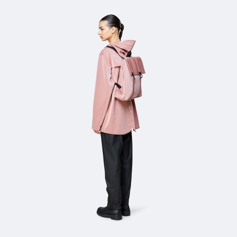 Rucksack MSN Mini Blush, Farbe: rosa/pink, Marke: Rains, EAN: 5711747469863, Abmessungen in cm: 30.5x34.5x12.0, Bild 3 von 6