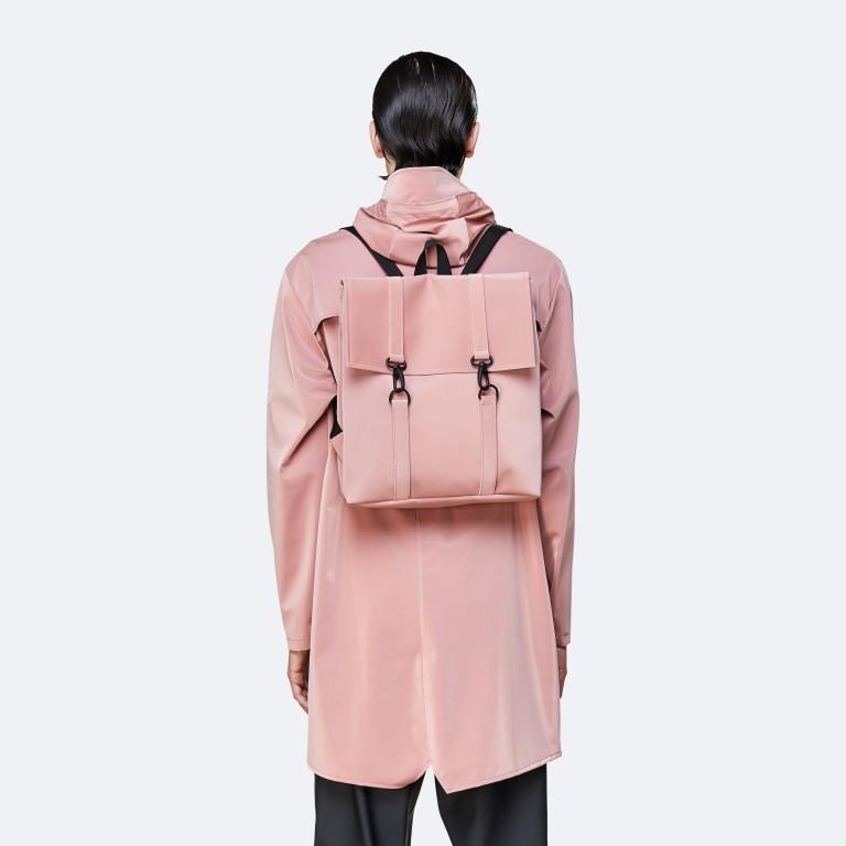 Rucksack MSN Mini Blush, Farbe: rosa/pink, Marke: Rains, EAN: 5711747469863, Abmessungen in cm: 30.5x34.5x12.0, Bild 4 von 6