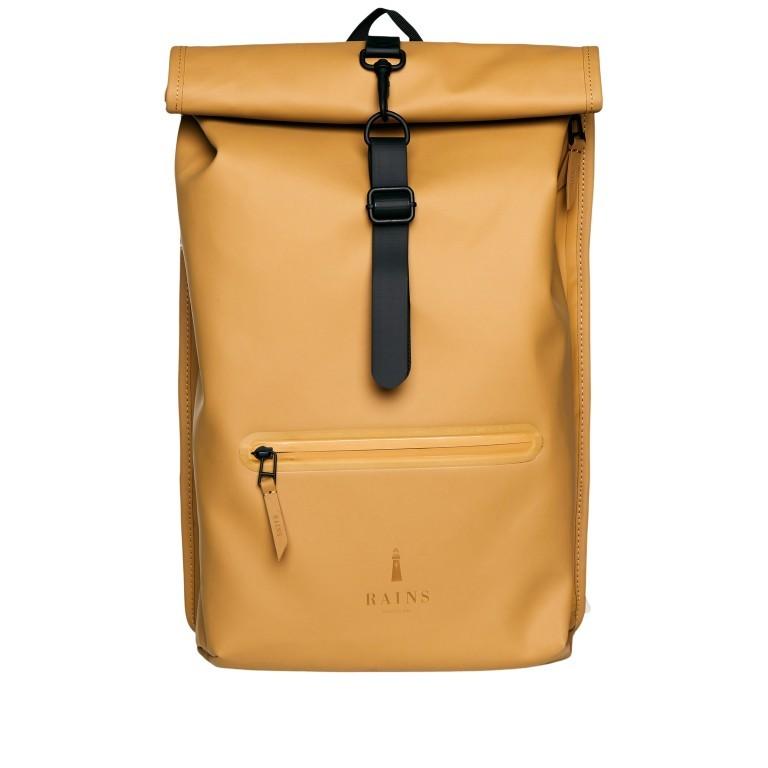 Rucksack Rolltop Khaki, Farbe: taupe/khaki, Marke: Rains, EAN: 5711747469726, Bild 1 von 5