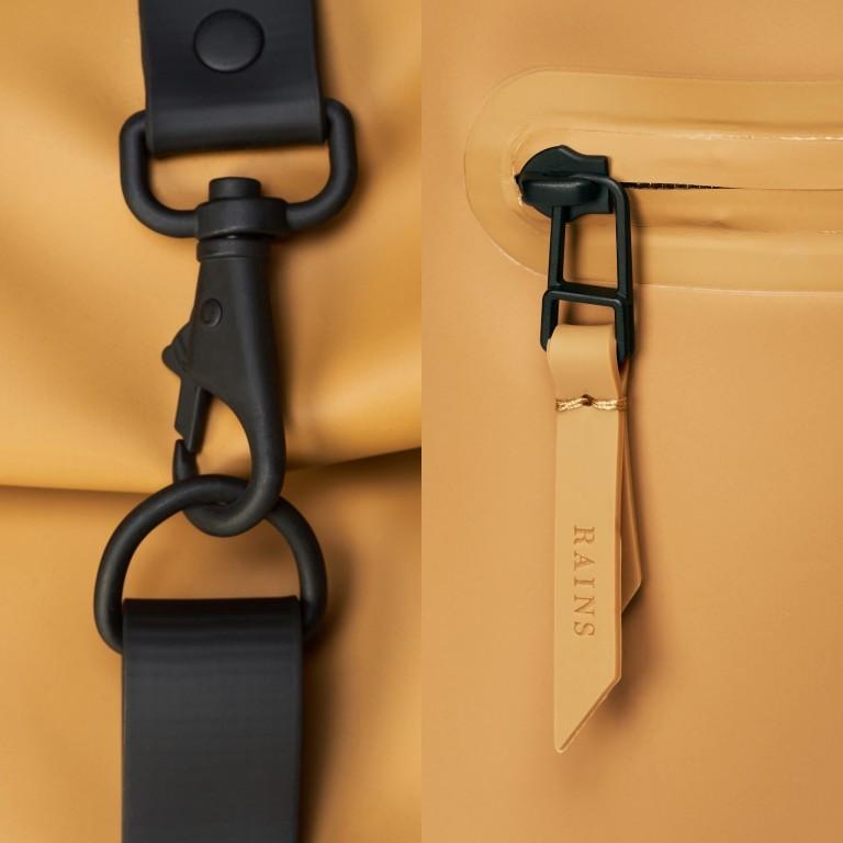 Rucksack Rolltop Khaki, Farbe: taupe/khaki, Marke: Rains, EAN: 5711747469726, Bild 5 von 5