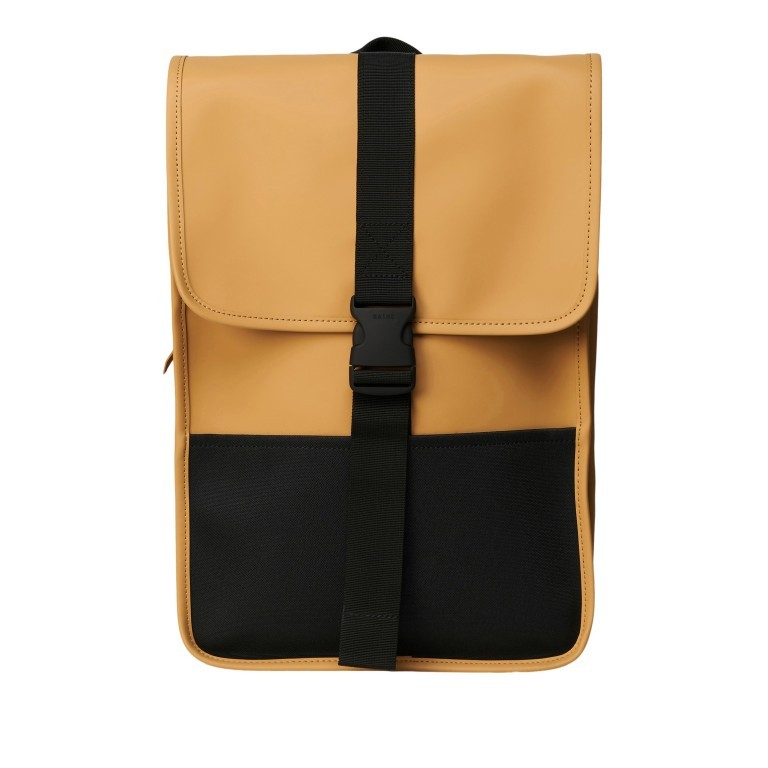 Rucksack Buckle Backpack Mini Khaki, Farbe: taupe/khaki, Marke: Rains, EAN: 5711747472351, Abmessungen in cm: 29.0x42.0x8.0, Bild 1 von 5
