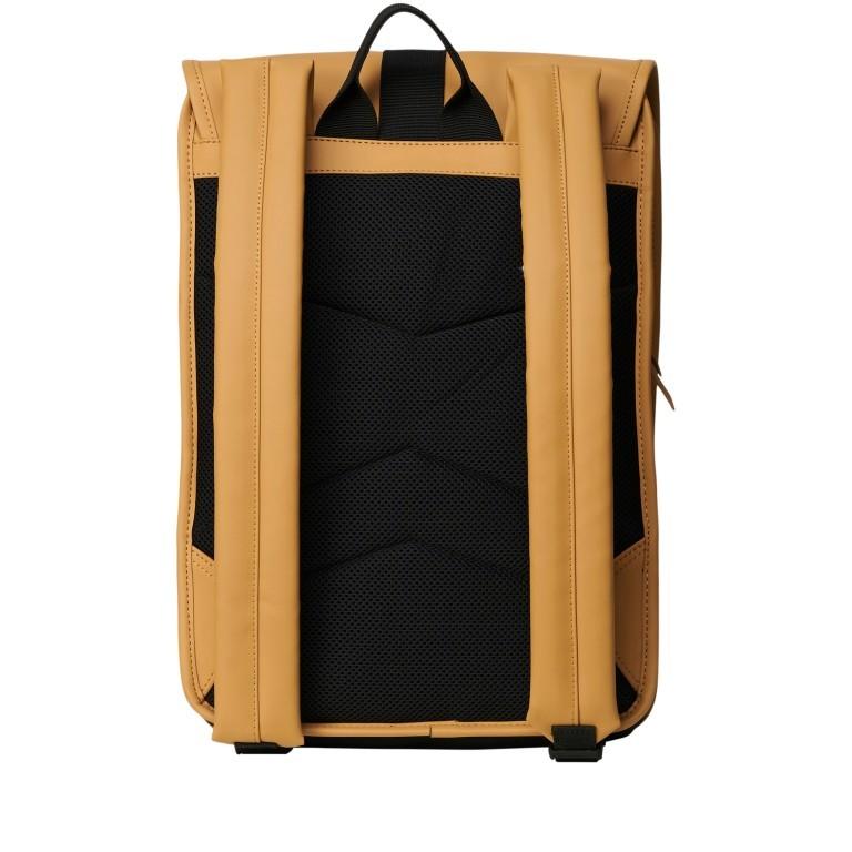Rucksack Buckle Backpack Mini Khaki, Farbe: taupe/khaki, Marke: Rains, EAN: 5711747472351, Abmessungen in cm: 29.0x42.0x8.0, Bild 2 von 5