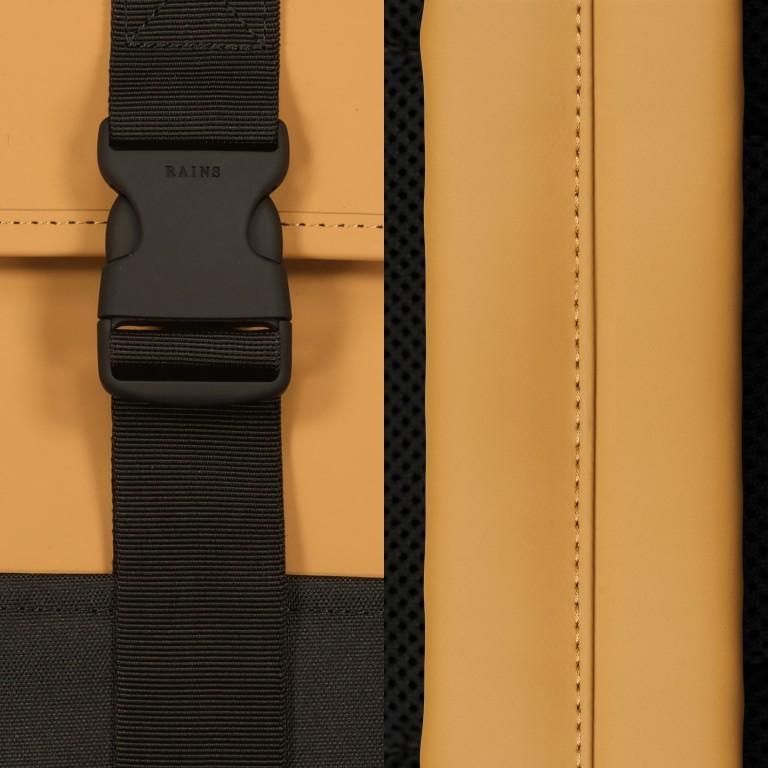 Rucksack Buckle Backpack Mini Khaki, Farbe: taupe/khaki, Marke: Rains, EAN: 5711747472351, Abmessungen in cm: 29.0x42.0x8.0, Bild 5 von 5