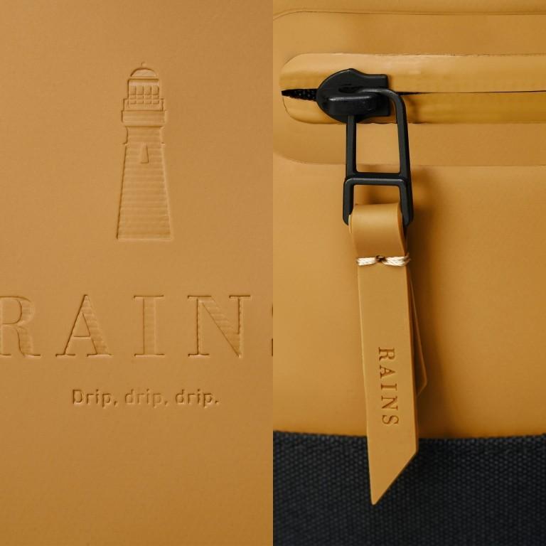 Rucksack Buckle Rolltop Khaki, Farbe: taupe/khaki, Marke: Rains, EAN: 5711747472436, Abmessungen in cm: 34.0x47.0x12.0, Bild 5 von 5