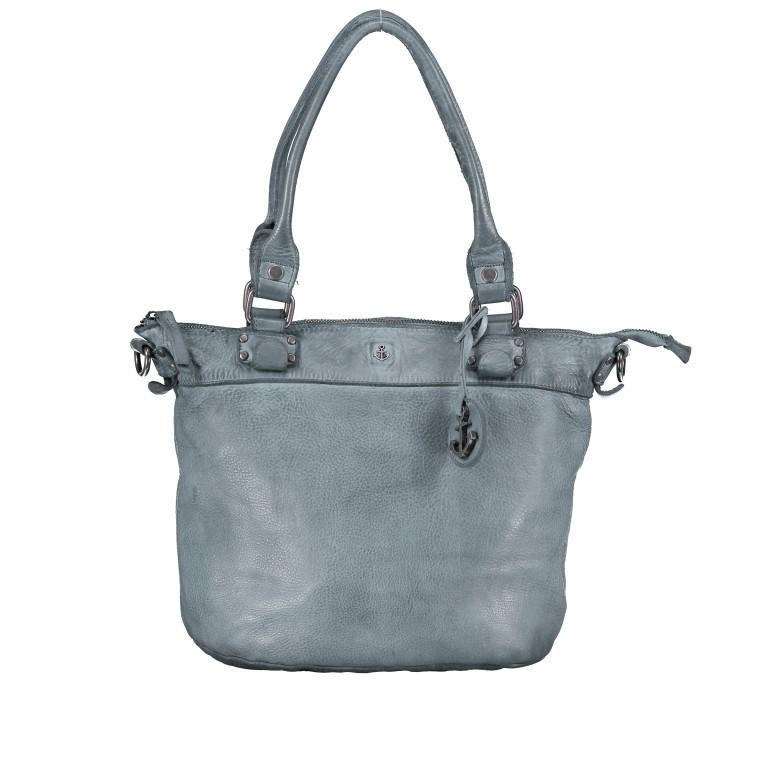 Shopper Anchor-Love Bianca B3.5938 New Denim, Farbe: blau/petrol, Marke: Harbour 2nd, EAN: 4046478051928, Abmessungen in cm: 36.0x27.0x12.5, Bild 1 von 8