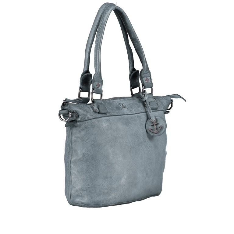 Shopper Anchor-Love Bianca B3.5938 New Denim, Farbe: blau/petrol, Marke: Harbour 2nd, EAN: 4046478051928, Abmessungen in cm: 36.0x27.0x12.5, Bild 2 von 8