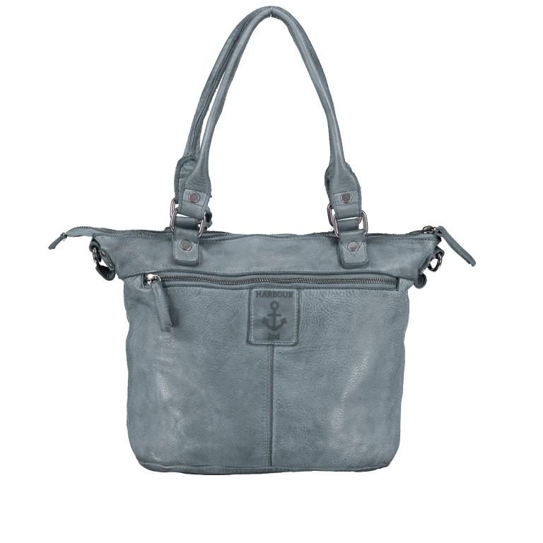 Shopper Anchor-Love Bianca B3.5938 New Denim, Farbe: blau/petrol, Marke: Harbour 2nd, EAN: 4046478051928, Abmessungen in cm: 36.0x27.0x12.5, Bild 3 von 8