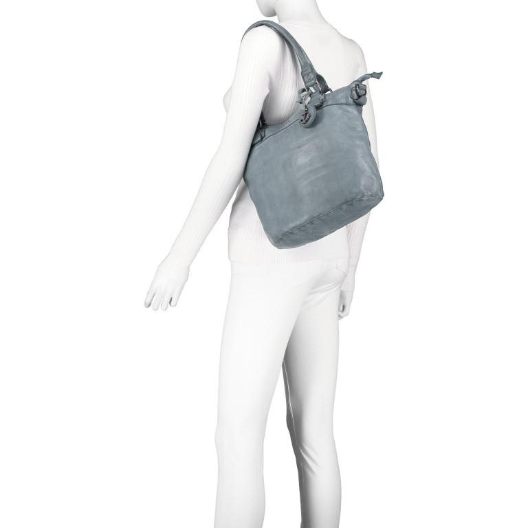 Shopper Anchor-Love Bianca B3.5938 New Denim, Farbe: blau/petrol, Marke: Harbour 2nd, EAN: 4046478051928, Abmessungen in cm: 36.0x27.0x12.5, Bild 4 von 8
