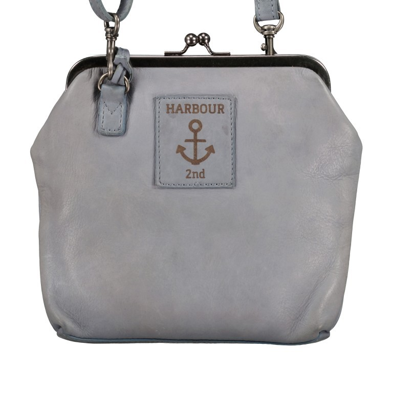 HARBOUR2nd Bügeltasche Rosalie B3.7840 New Denim, Farbe: blau/petrol, Marke: Harbour 2nd, EAN: 4046478052024, Abmessungen in cm: 22.0x20.0x3.0, Bild 3 von 8