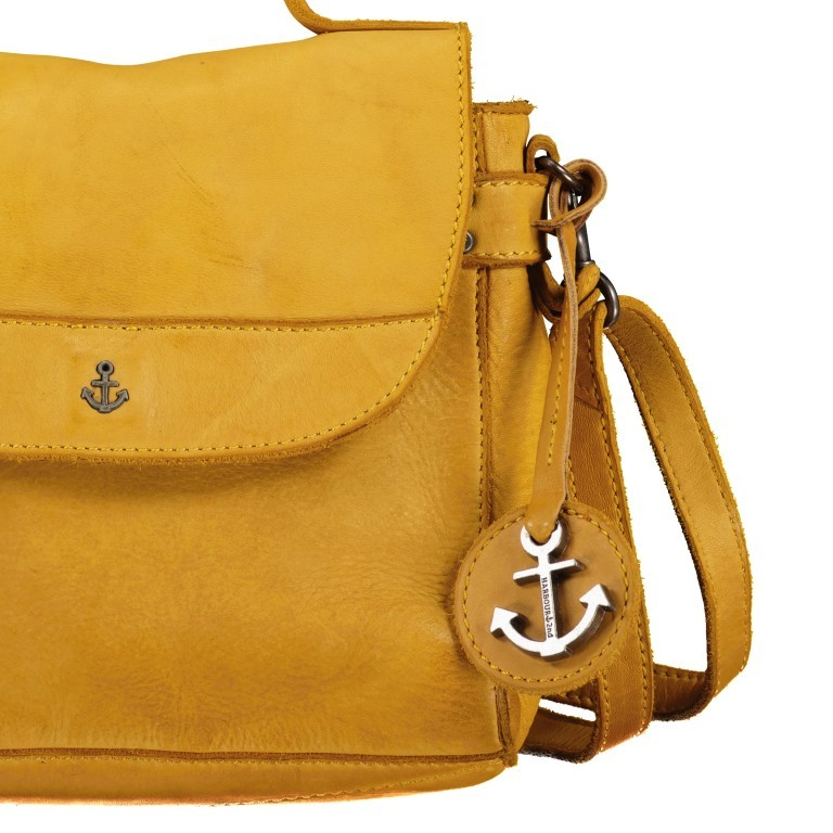 Tasche / Rucksack Anchor-Love Tatjana AL.10459 Oriental Mustard, Farbe: gelb, Marke: Harbour 2nd, EAN: 4046478052154, Abmessungen in cm: 22.0x20.0x5.0, Bild 10 von 10