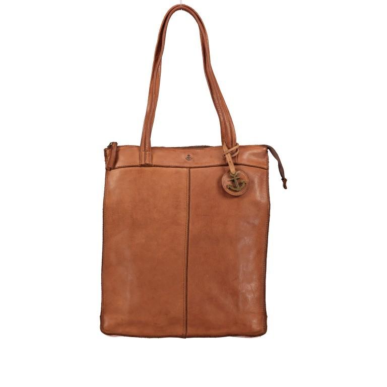 Rucksack / Shopper Anchor-Love Franka AL.10492 Charming Cognac, Farbe: cognac, Marke: Harbour 2nd, EAN: 4046478052208, Abmessungen in cm: 30.0x36.0x10.0, Bild 1 von 7