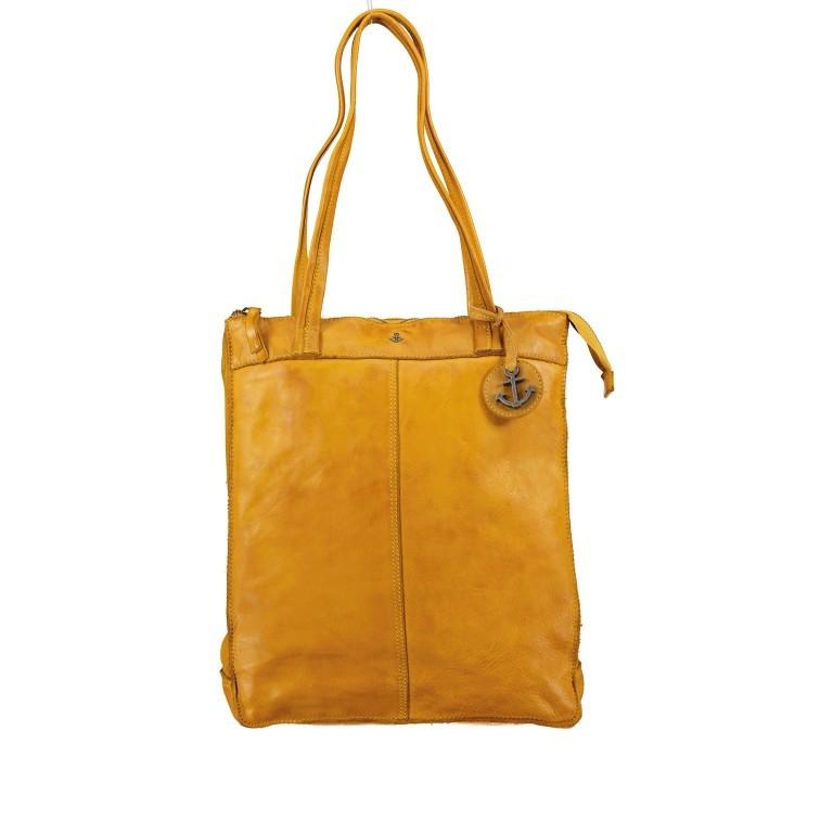 Rucksack / Shopper Anchor-Love Franka AL.10492 Oriental Mustard, Farbe: gelb, Marke: Harbour 2nd, EAN: 4046478052215, Abmessungen in cm: 30.0x36.0x10.0, Bild 1 von 7