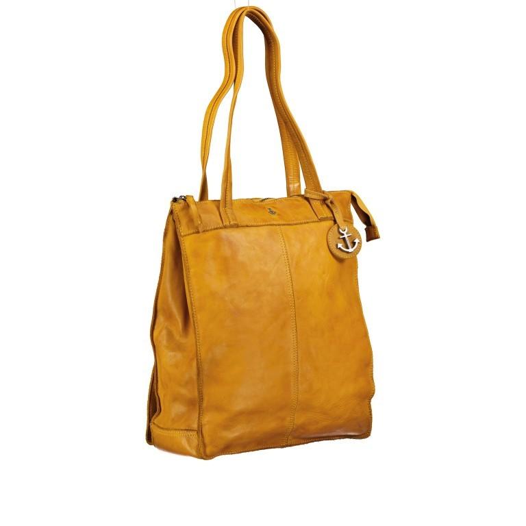 Rucksack / Shopper Anchor-Love Franka AL.10492 Oriental Mustard, Farbe: gelb, Marke: Harbour 2nd, EAN: 4046478052215, Abmessungen in cm: 30.0x36.0x10.0, Bild 2 von 7