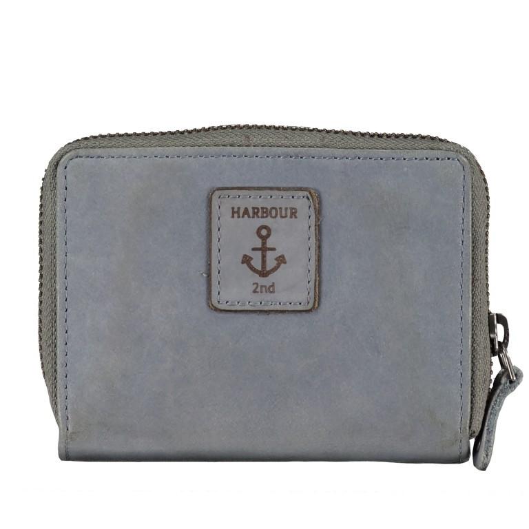 Harbour 2nd Börse Isidora B3.1543 New Denim, Farbe: blau/petrol, Marke: Harbour 2nd, EAN: 4046478052376, Abmessungen in cm: 12.0x9.5x3.0, Bild 3 von 6