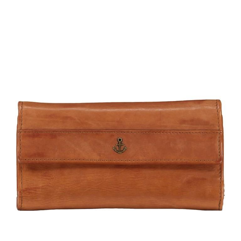 Geldbörse Anchor-Love Fayette B3.1549 Charming Cognac, Farbe: cognac, Marke: Harbour 2nd, EAN: 4046478035874, Abmessungen in cm: 18.5x9.5x3.0, Bild 1 von 7
