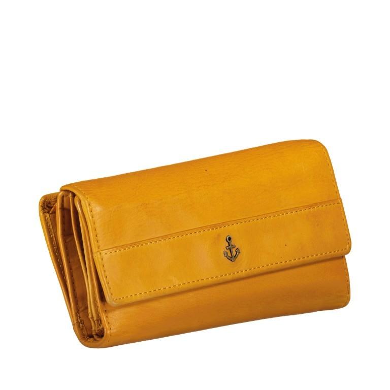 Geldbörse Anchor-Love Fayette B3.1549 Oriental Mustard, Farbe: gelb, Marke: Harbour 2nd, EAN: 4046478035898, Abmessungen in cm: 18.5x9.5x3.0, Bild 2 von 7