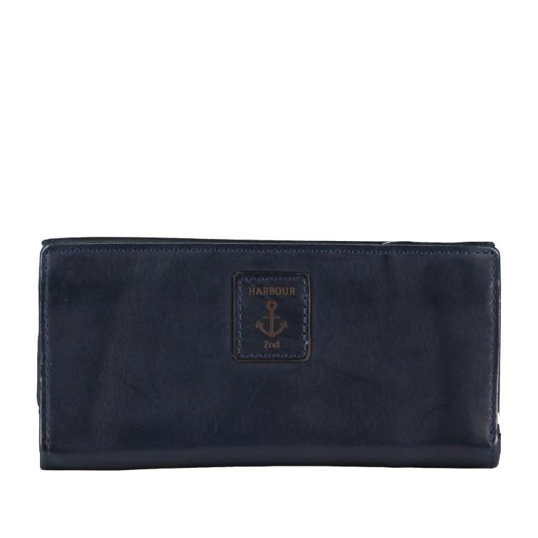 Geldbörse Anchor-Love Fayette B3.1549 Midnight Navy, Farbe: blau/petrol, Marke: Harbour 2nd, EAN: 4046478035904, Abmessungen in cm: 18.5x9.5x3.0, Bild 3 von 7
