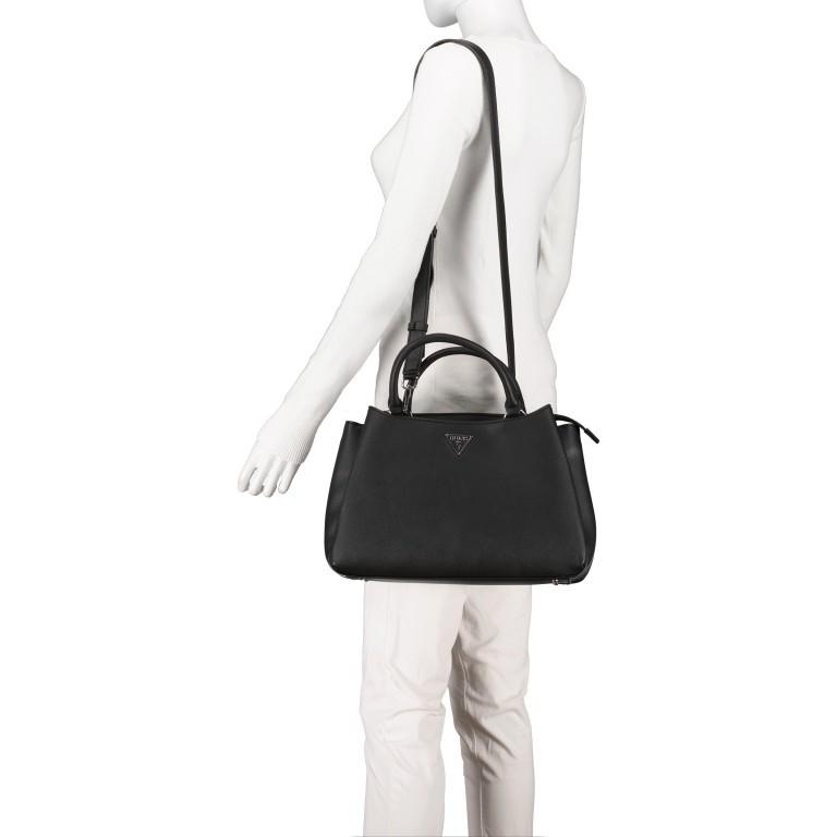 Handtasche Black, Farbe: schwarz, Marke: Guess, EAN: 0190231456766, Abmessungen in cm: 35.0x23.0x14.0, Bild 5 von 9