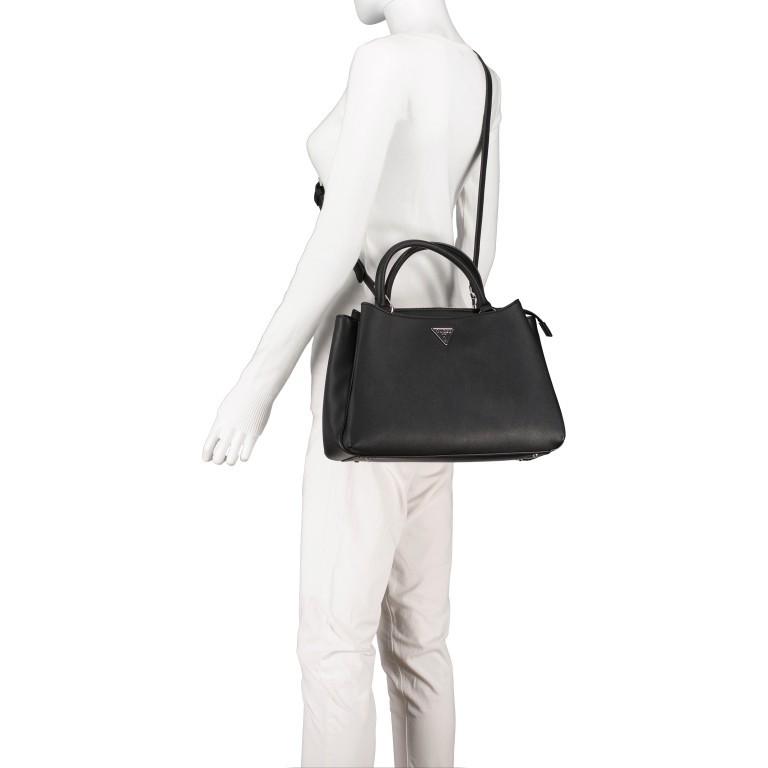 Handtasche Black, Farbe: schwarz, Marke: Guess, EAN: 0190231456766, Abmessungen in cm: 35.0x23.0x14.0, Bild 6 von 9