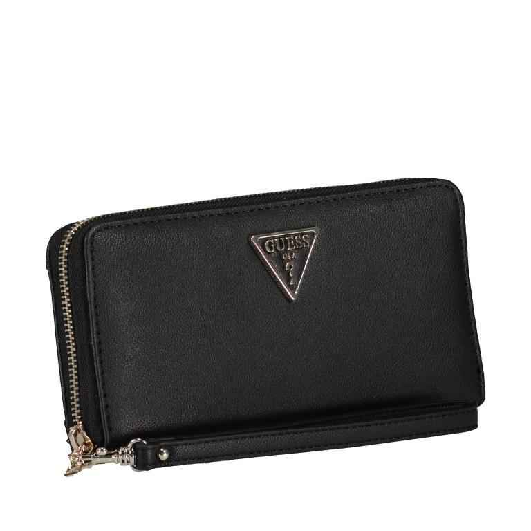 Geldbörse Noelle Black, Farbe: schwarz, Marke: Guess, EAN: 0190231473831, Abmessungen in cm: 20.5x10.5x2.0, Bild 2 von 4