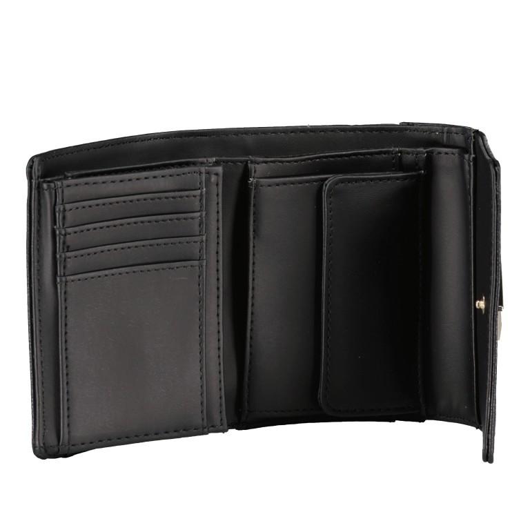 Geldbörse Noelle Black, Farbe: schwarz, Marke: Guess, EAN: 0190231473817, Abmessungen in cm: 13.0x11.0x3.0, Bild 3 von 5