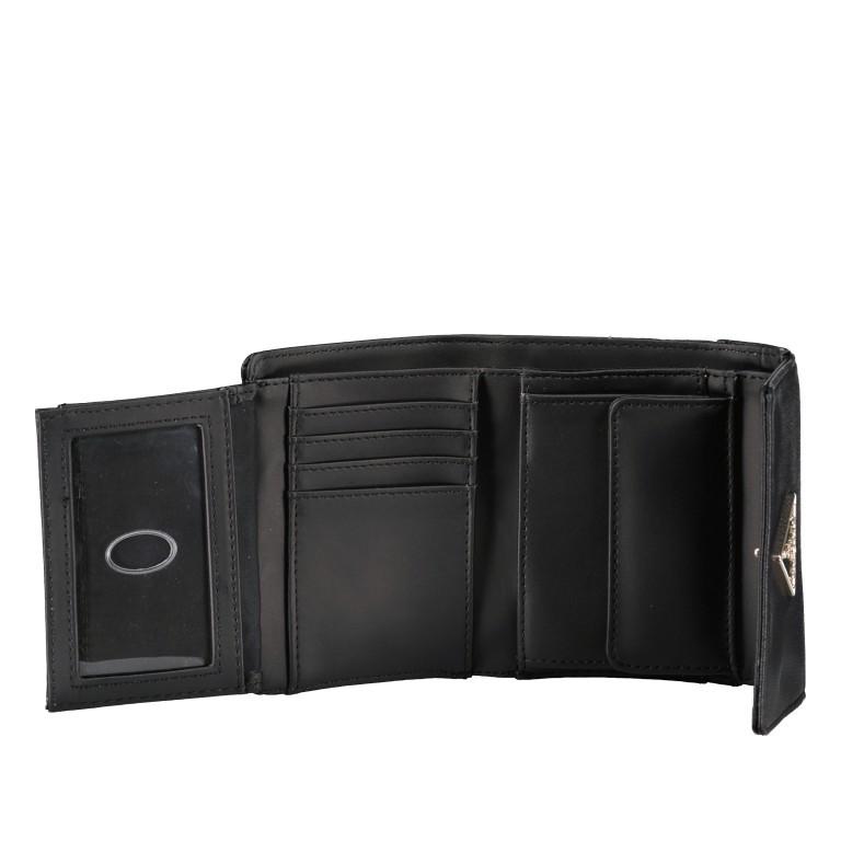 Geldbörse Noelle Black, Farbe: schwarz, Marke: Guess, EAN: 0190231473817, Abmessungen in cm: 13.0x11.0x3.0, Bild 4 von 5