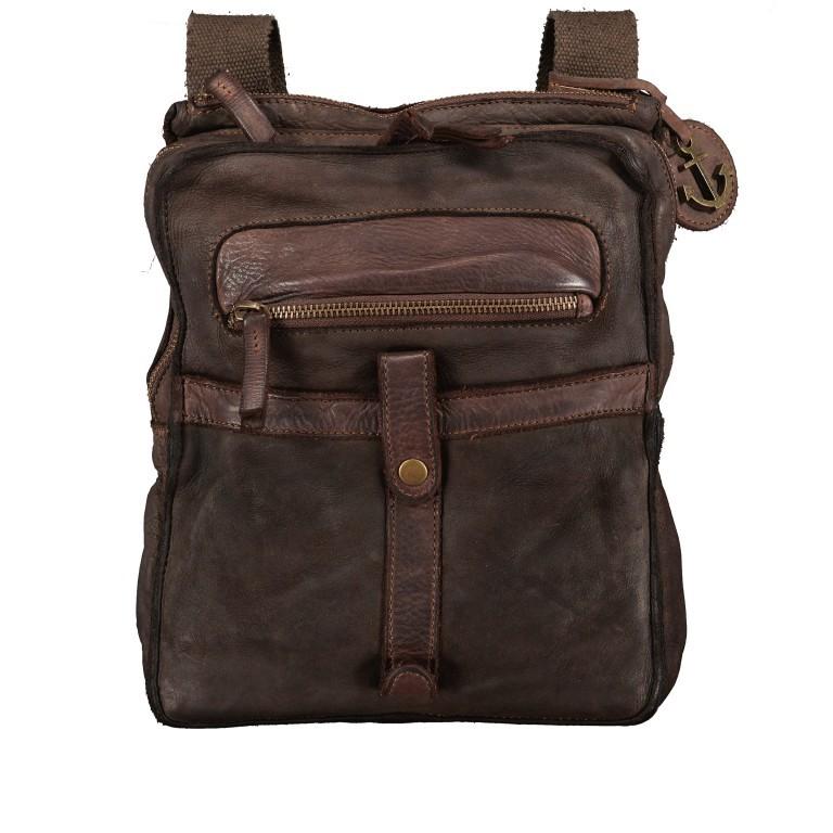 Umhängetasche Cool-Casual Finn B3.0172 Chocolate Brown, Farbe: braun, Marke: Harbour 2nd, EAN: 4046478047655, Abmessungen in cm: 23.5x29.0x6.5, Bild 1 von 9