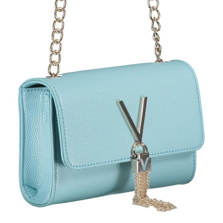 Umhängetasche Divina Azzurro, Farbe: blau/petrol, Marke: Valentino Bags, EAN: 8058043315706, Abmessungen in cm: 17.5x11.5x6.0, Bild 2 von 6