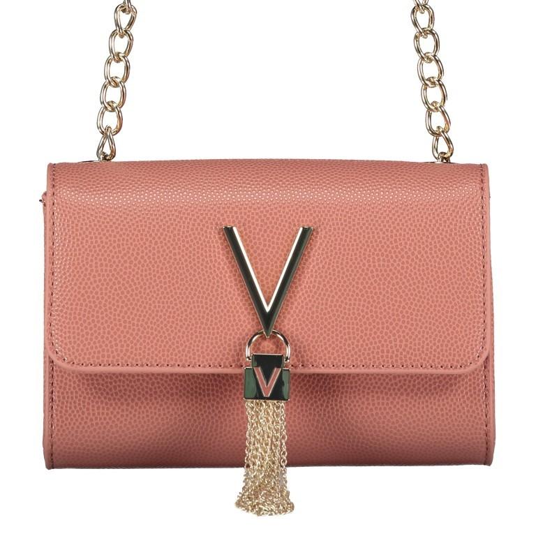 Umhängetasche Divina Rosa Antico, Farbe: rosa/pink, Marke: Valentino Bags, EAN: 8058043161747, Abmessungen in cm: 17.5x11.5x6.0, Bild 1 von 6