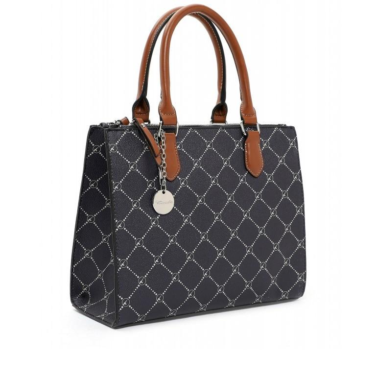 Shopper Anastasia Blue, Farbe: blau/petrol, Marke: Tamaris, EAN: 4063512031760, Abmessungen in cm: 29.5x22.5x14.0, Bild 2 von 5