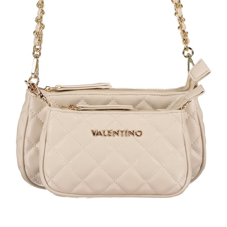 Umhängetasche Ocarina Ecru, Farbe: beige, Marke: Valentino Bags, EAN: 8058043332284, Abmessungen in cm: 24.5x14.5x5.0, Bild 1 von 13