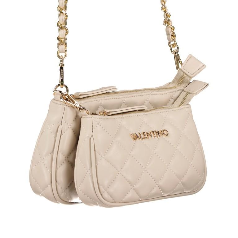 Umhängetasche Ocarina Ecru, Farbe: beige, Marke: Valentino Bags, EAN: 8058043332284, Abmessungen in cm: 24.5x14.5x5.0, Bild 2 von 13