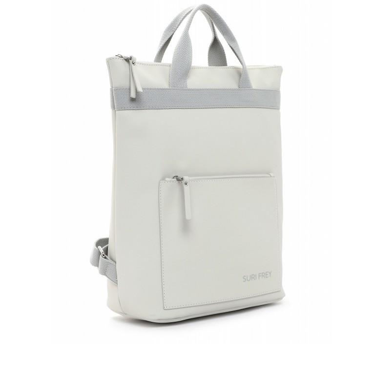 Rucksack Jessy 18003 Ecru Light Grey, Farbe: beige, Marke: Suri Frey, EAN: 4056185137136, Bild 2 von 7