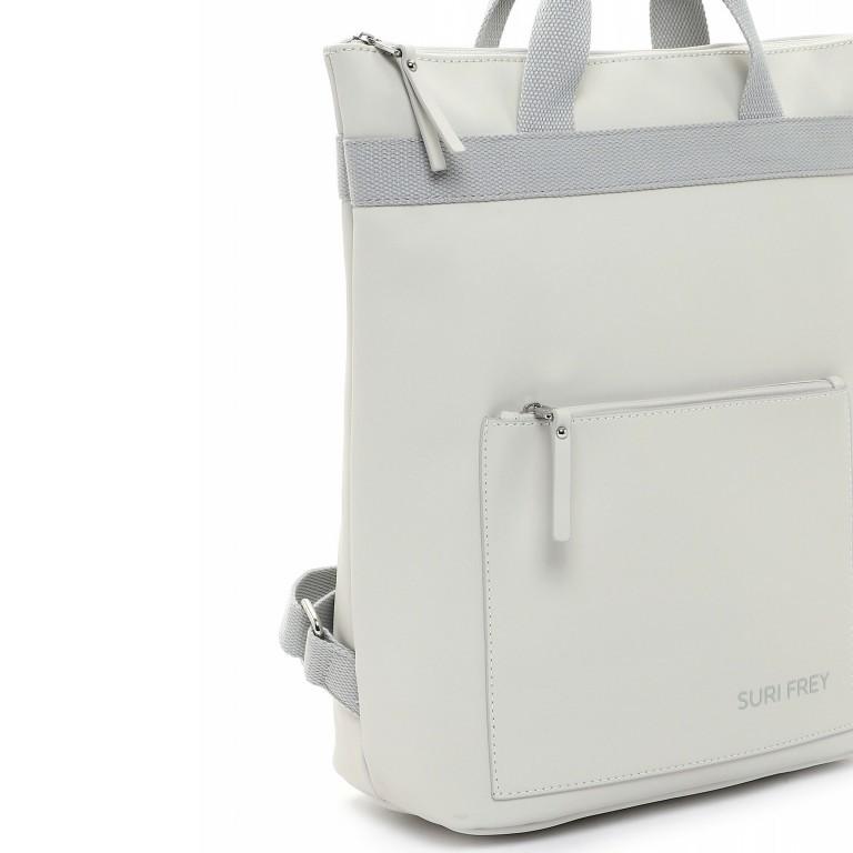 Rucksack Jessy 18003 Ecru Light Grey, Farbe: beige, Marke: Suri Frey, EAN: 4056185137136, Bild 7 von 7