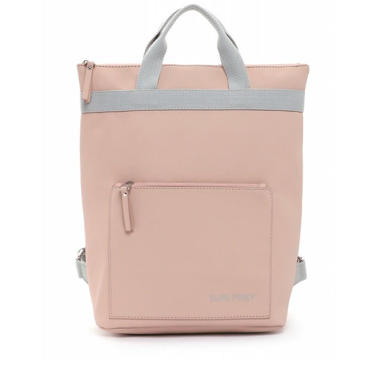 Rucksack Jessy 18003 Rose Light Grey, Farbe: rosa/pink, Marke: Suri Frey, EAN: 4056185137167, Bild 1 von 7