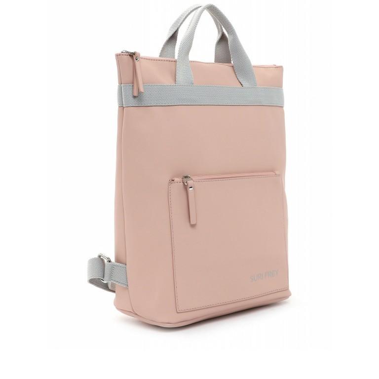 Rucksack Jessy 18003 Rose Light Grey, Farbe: rosa/pink, Marke: Suri Frey, EAN: 4056185137167, Bild 2 von 7