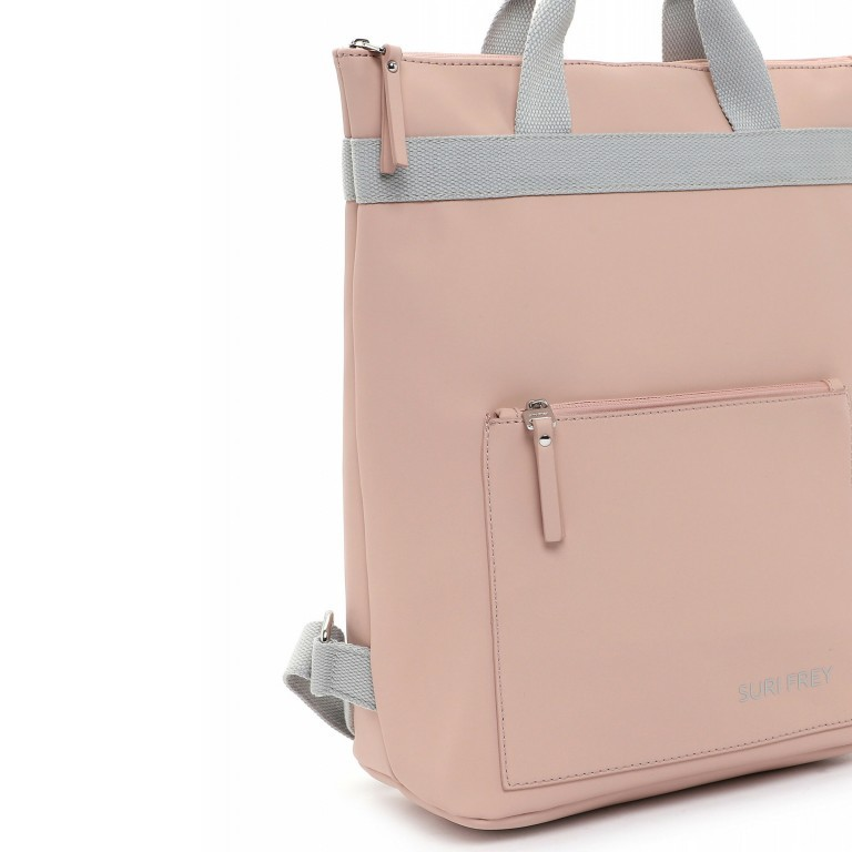 Rucksack Jessy 18003 Rose Light Grey, Farbe: rosa/pink, Marke: Suri Frey, EAN: 4056185137167, Bild 7 von 7
