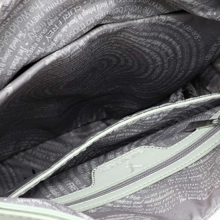 Rucksack Jessy 18003 Mint Light Grey, Farbe: grün/oliv, Marke: Suri Frey, EAN: 4056185137198, Bild 6 von 7