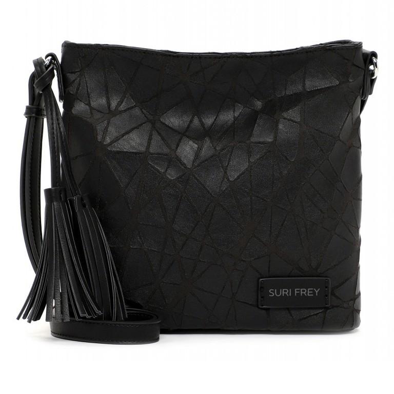 Umhängetasche Kimmy 12790 Black, Farbe: schwarz, Marke: Suri Frey, EAN: 4056185134531, Abmessungen in cm: 27.0x26.0x6.0, Bild 1 von 7