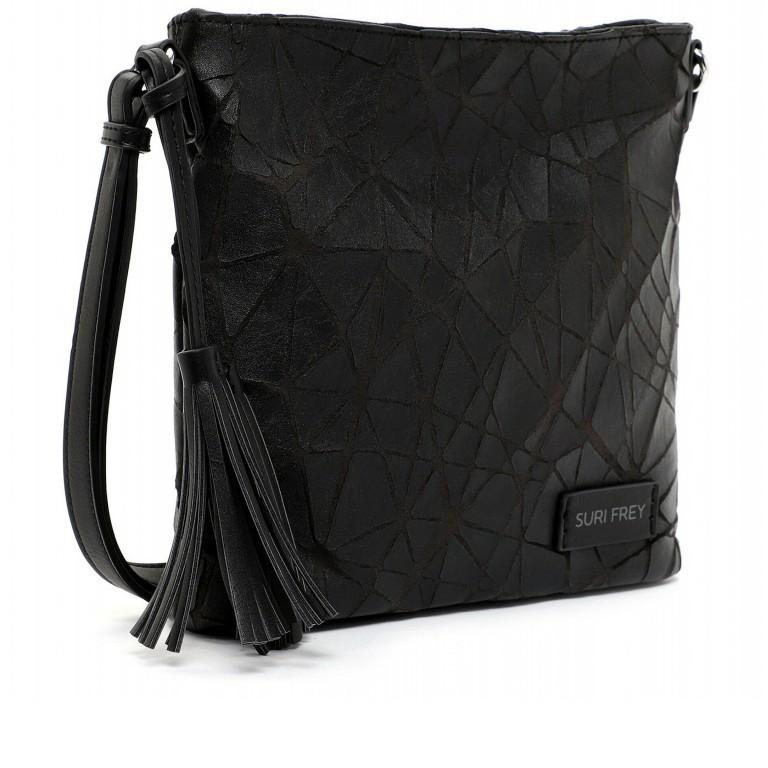 Umhängetasche Kimmy 12790 Black, Farbe: schwarz, Marke: Suri Frey, EAN: 4056185134531, Abmessungen in cm: 27.0x26.0x6.0, Bild 2 von 7