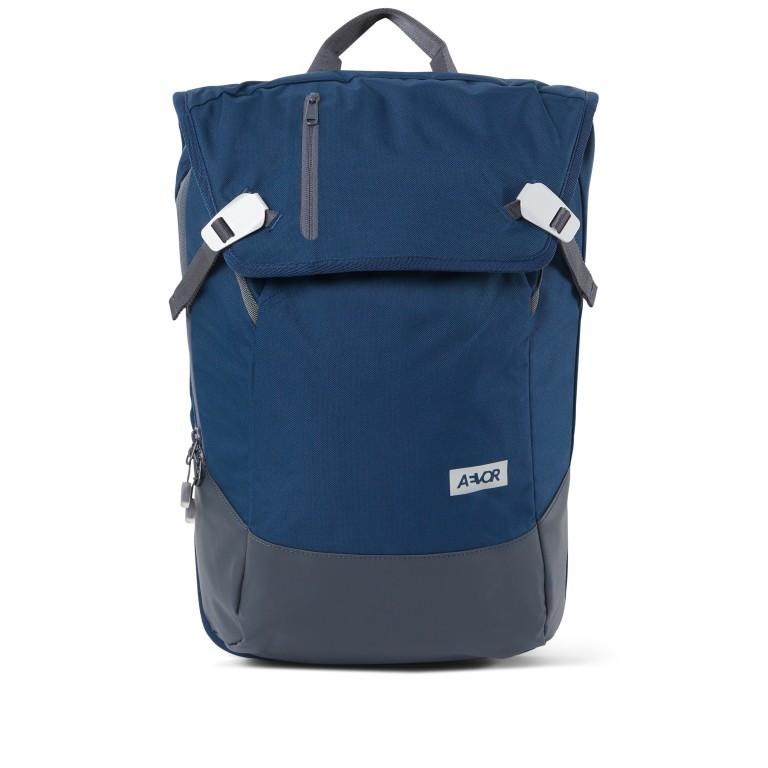 Rucksack Daypack Solid Midnight Navy, Farbe: blau/petrol, Marke: Aevor, EAN: 4057081088836, Abmessungen in cm: 34.0x48.0x14.0, Bild 1 von 9