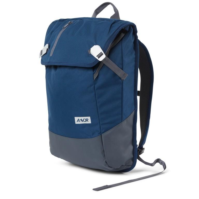 Rucksack Daypack Solid Midnight Navy, Farbe: blau/petrol, Marke: Aevor, EAN: 4057081088836, Abmessungen in cm: 34.0x48.0x14.0, Bild 2 von 9
