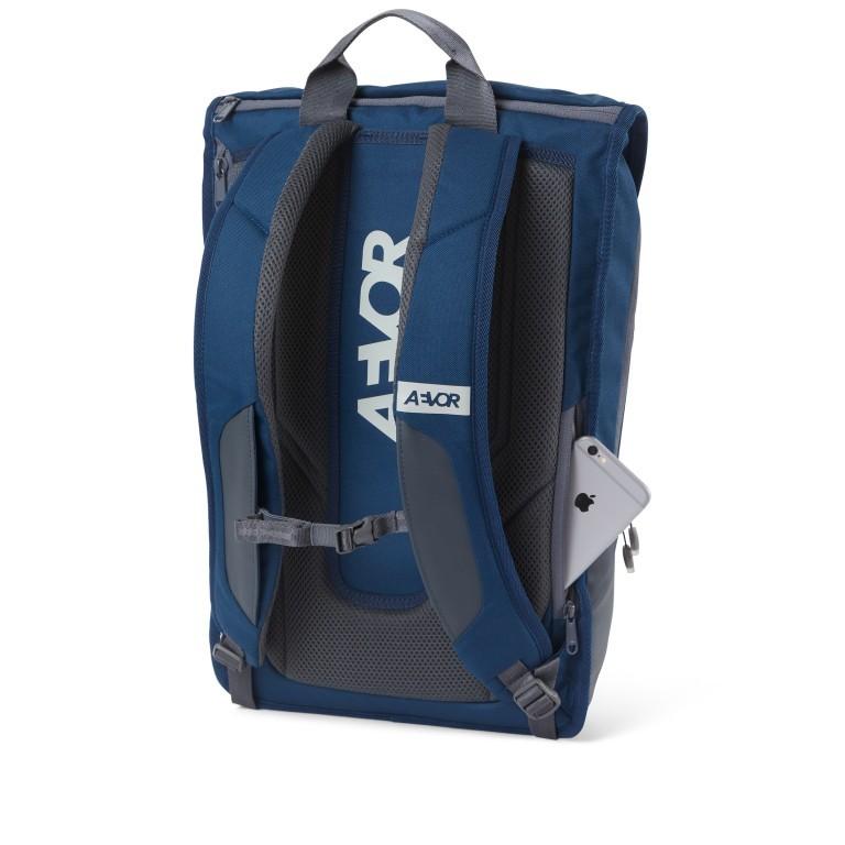 Rucksack Daypack Solid Midnight Navy, Farbe: blau/petrol, Marke: Aevor, EAN: 4057081088836, Abmessungen in cm: 34.0x48.0x14.0, Bild 8 von 9