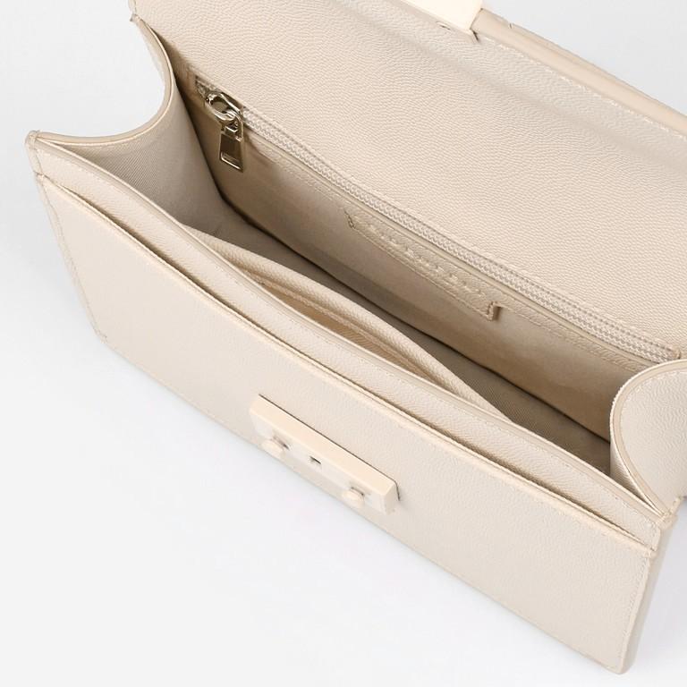 Umhängetasche Roros Colour Beige, Farbe: beige, Marke: Seidenfelt, EAN: 4251634249600, Abmessungen in cm: 21.0x16.5x6.5, Bild 6 von 8