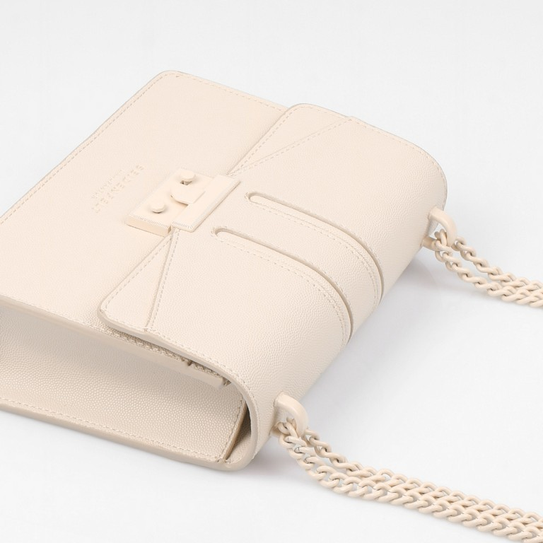 Umhängetasche Roros Colour Beige, Farbe: beige, Marke: Seidenfelt, EAN: 4251634249600, Abmessungen in cm: 21.0x16.5x6.5, Bild 7 von 8