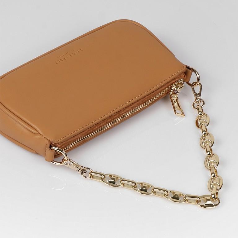 Umhängetasche Hamina Light Camel Gold, Farbe: cognac, Marke: Seidenfelt, EAN: 4251634248849, Abmessungen in cm: 19.5x10.0x3.5, Bild 9 von 11