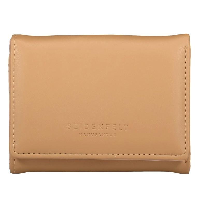 Geldbörse Svea Sand Gold, Farbe: beige, Marke: Seidenfelt, EAN: 4251634250668, Abmessungen in cm: 8.0x11.0x2.0, Bild 1 von 4