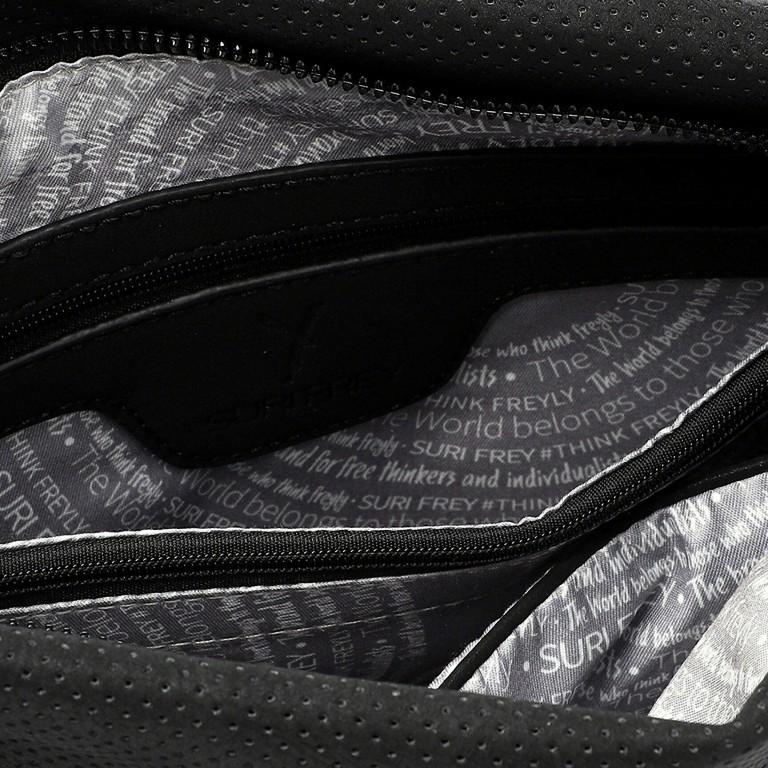 Beuteltasche Romy Su 12441 Black, Farbe: schwarz, Marke: Suri Frey, EAN: 4056185122774, Abmessungen in cm: 27.0x25.0x11.0, Bild 4 von 5